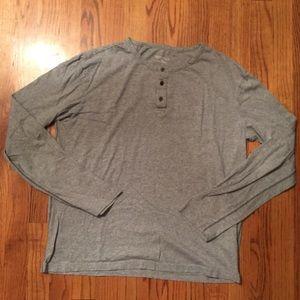 Merona Henley Long Sleeve Shirt